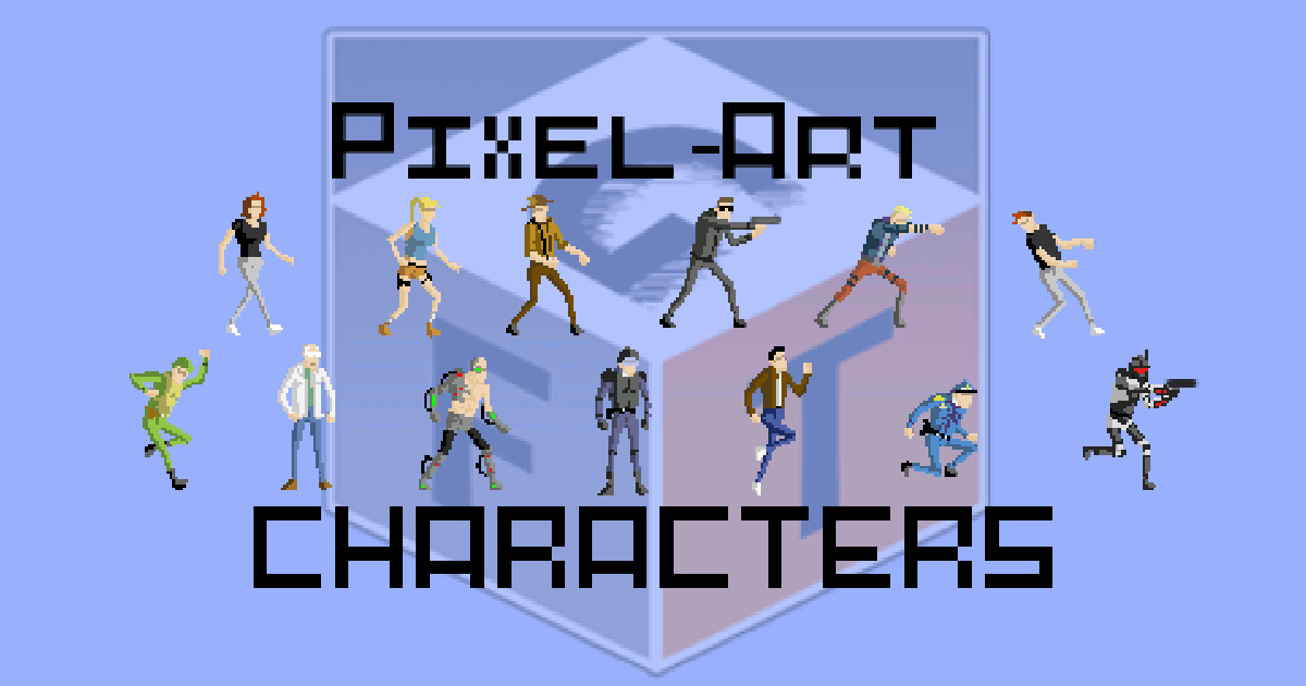 Pixel-Art Characters