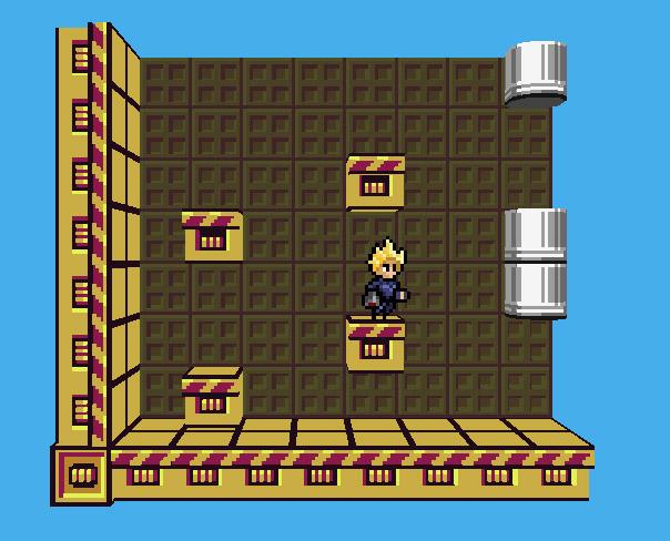 Platform Voxel Game