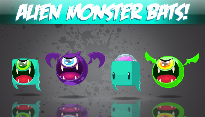 Alien Monster Bats!