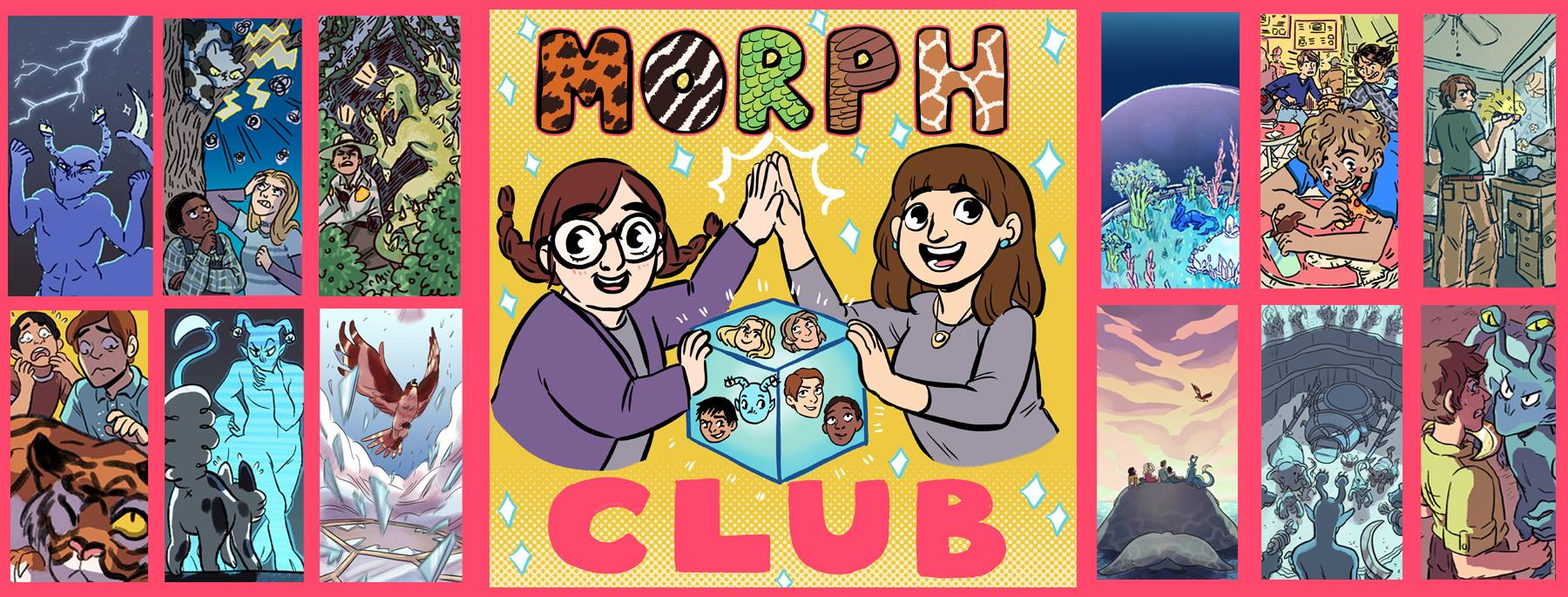 Morph Club Wallpaper Pack #1