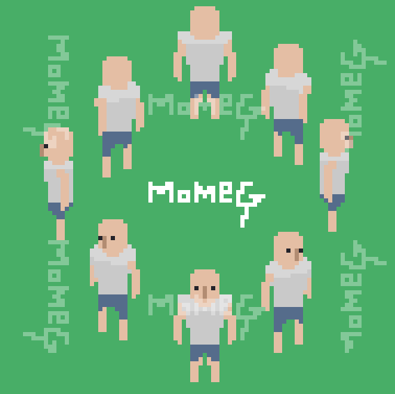 8 direction character by momeG