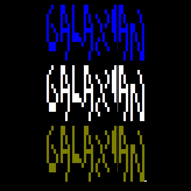 Galaxian in C