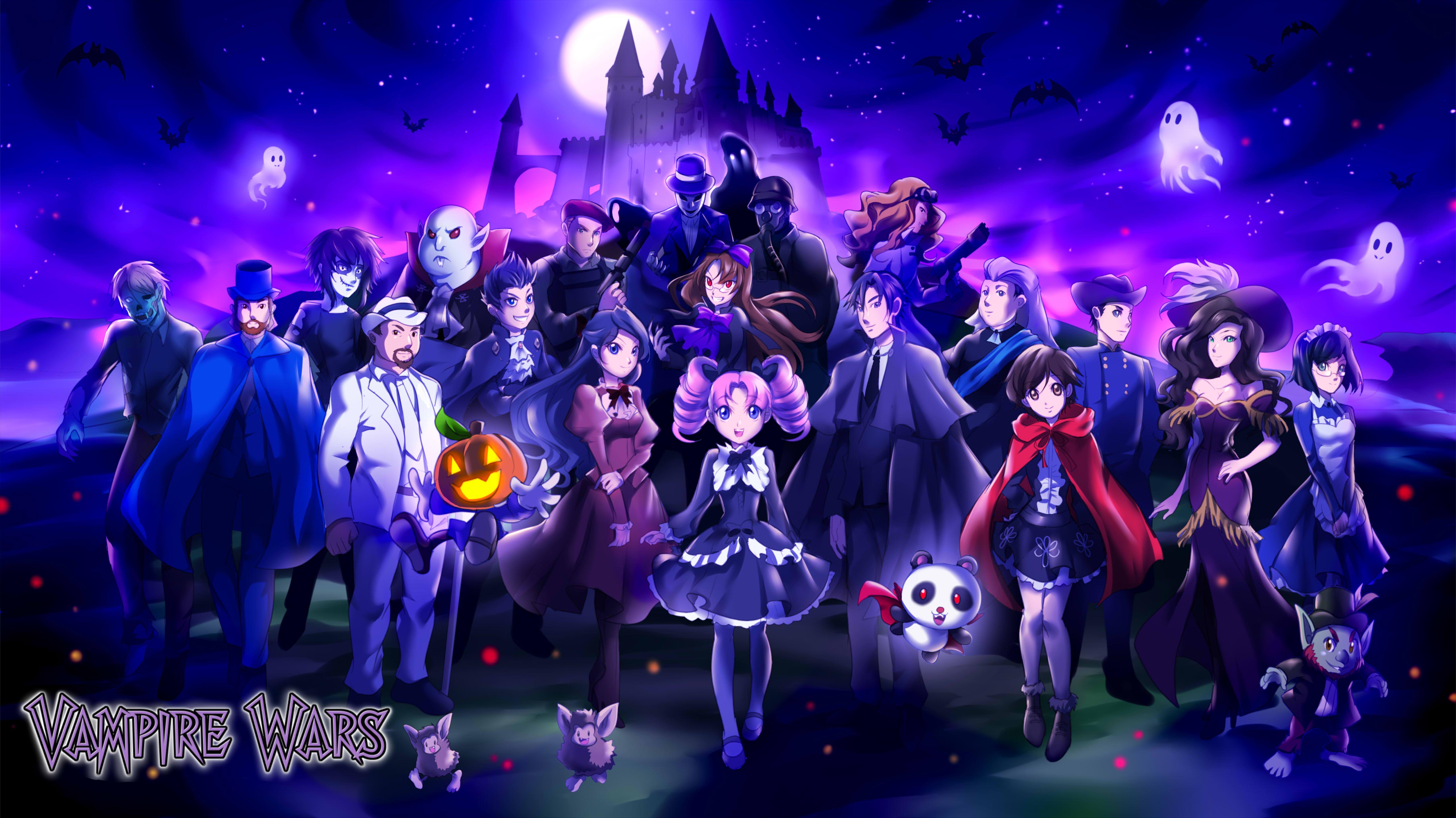 Vampire Wars Eternal Night (Comic)