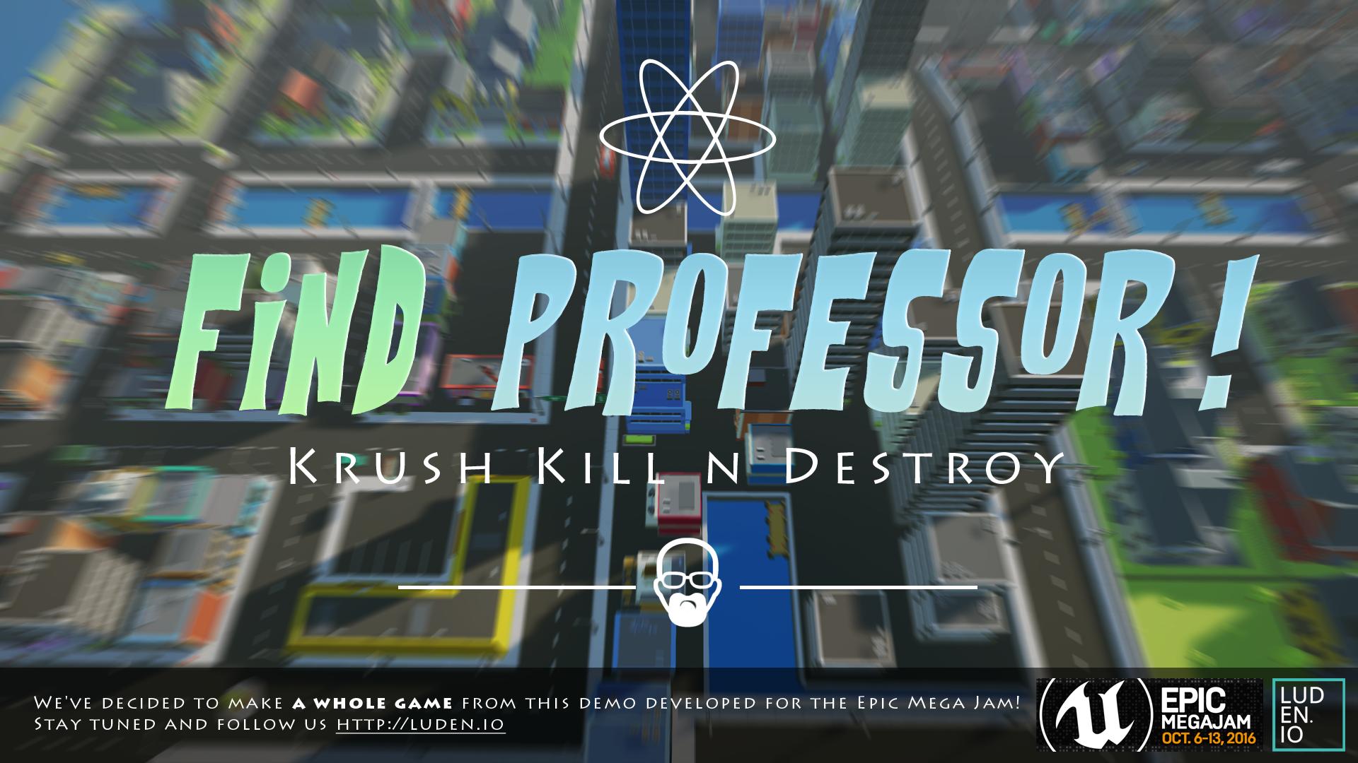 Find Professor VR (HTC Vive & Oculus Rift)