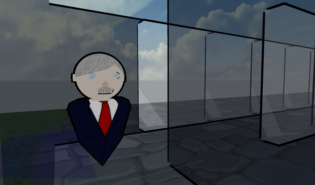 Senator in Maze - Game Jam 48hrs