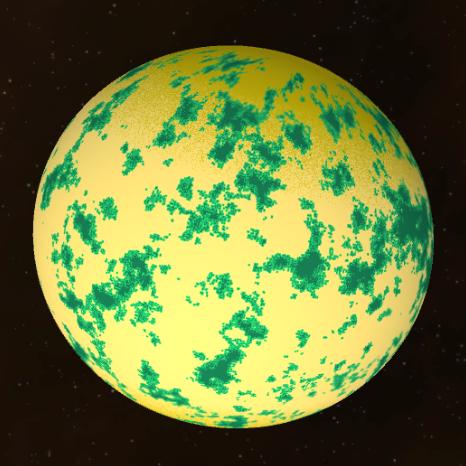 Planet Surface Generator by Joerg Reisig