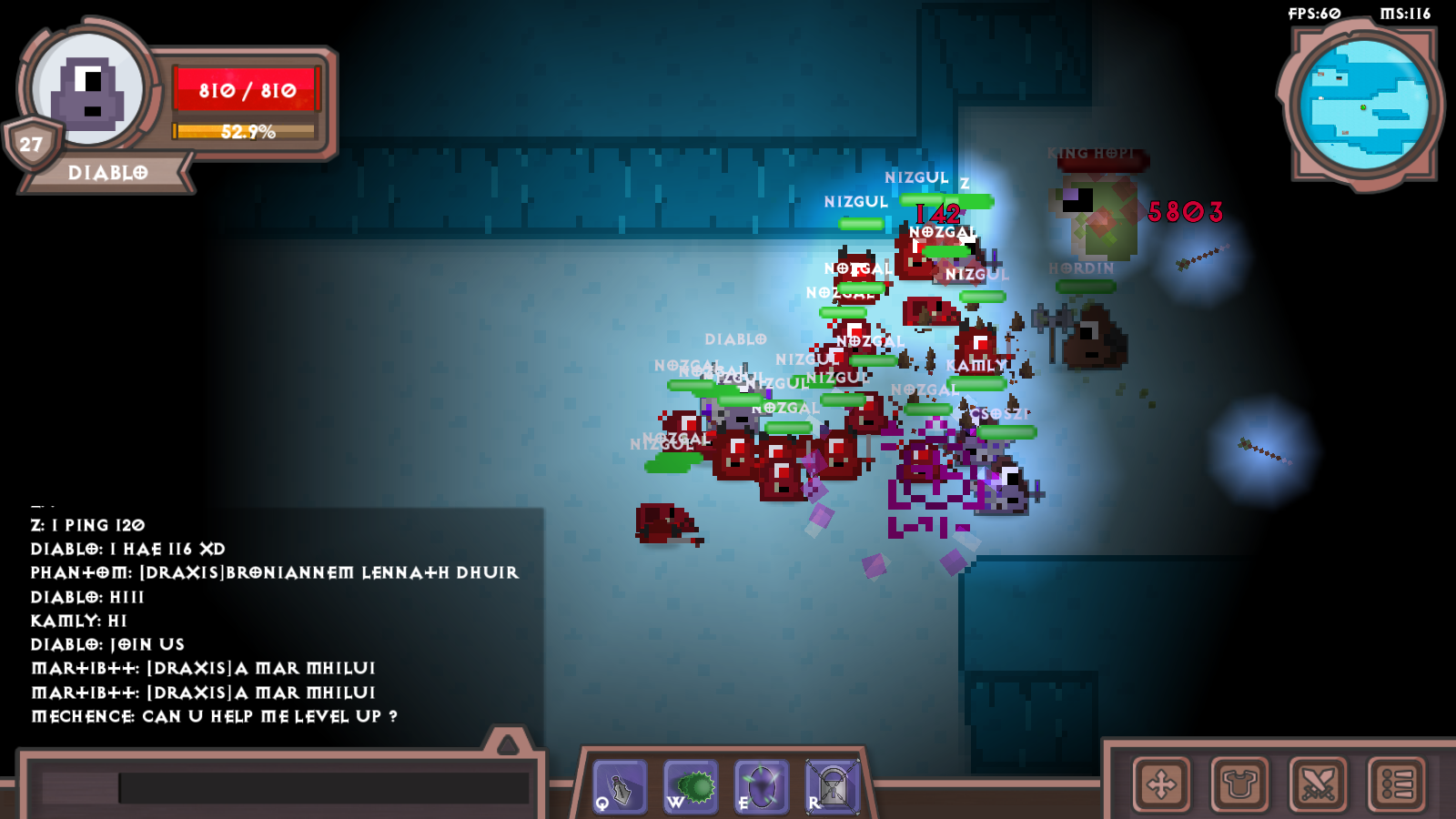Alpha: Little War Online [MMORPG] by Mobile Co Studios
