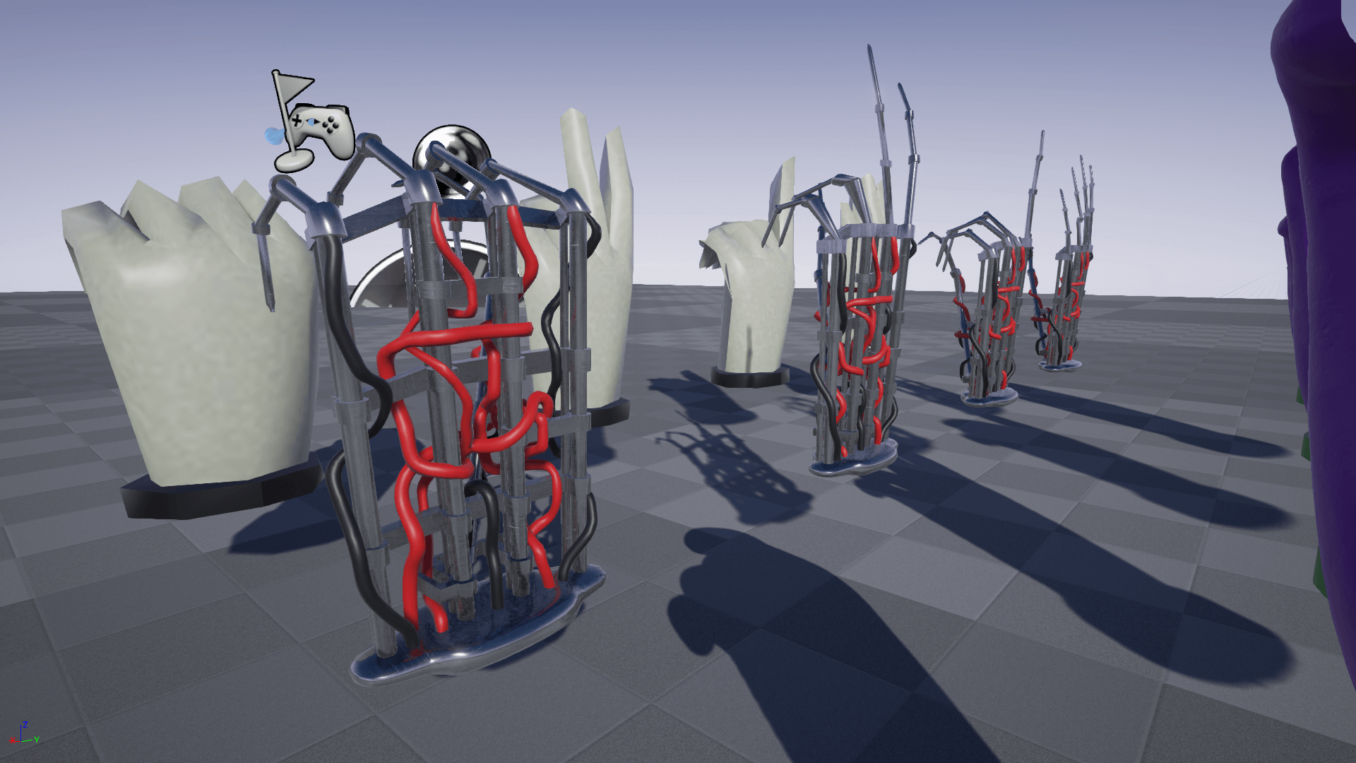 TAIKU PROTOTYPE VR HANDS for Unreal Engine 4 by KITATUS X ST TAIKU