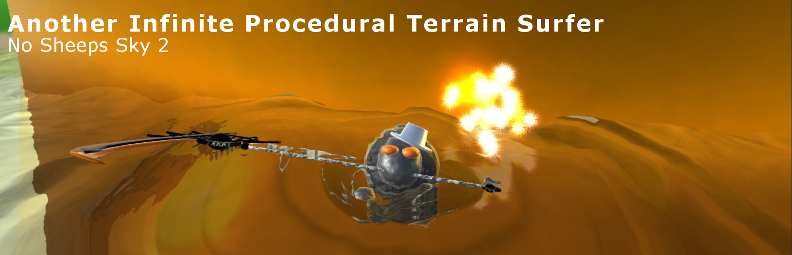 Another Infinite Procedural Terrain Surfer