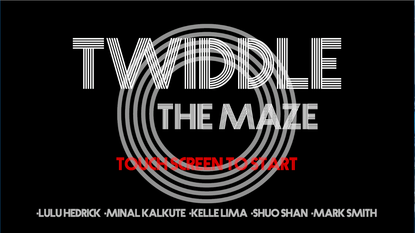 Twiddle: The Maze