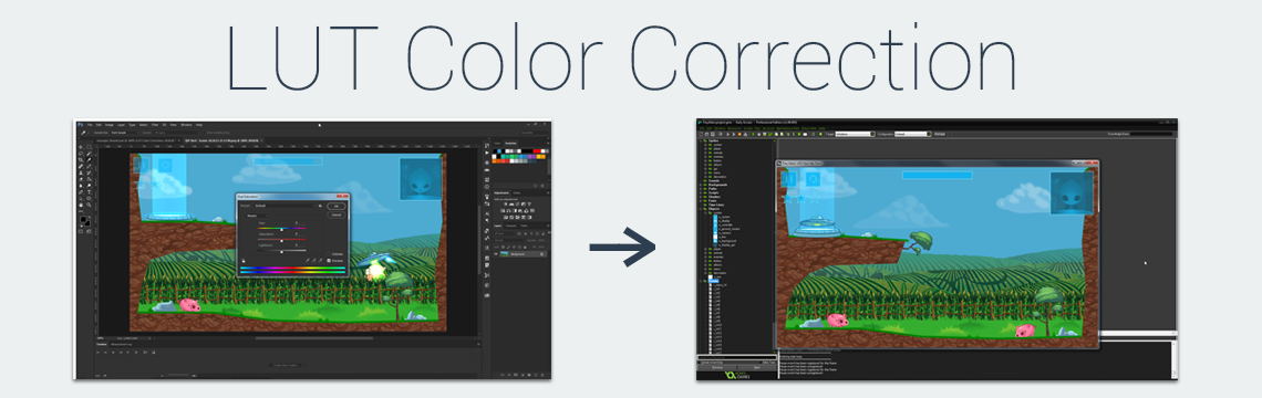 LUT Color Correction for GameMaker: Studio