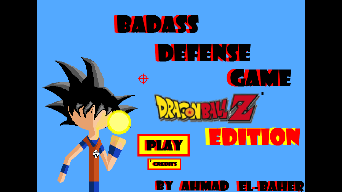 Badass Defense Game: Dragon Ball Z Edition