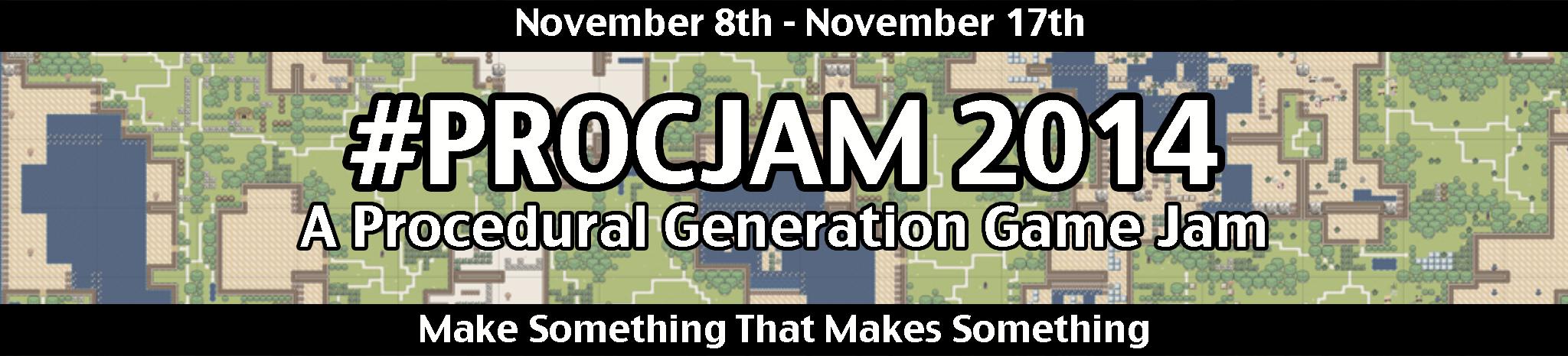 Procedural Generation Jam 2014 - itch io