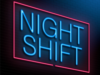 dating someone on night shift Your company's night-shift workers have it tough the human body has evolved to sleep at night and function during the day reversing this natural pattern can have serious physiological effects, depending on the individual.