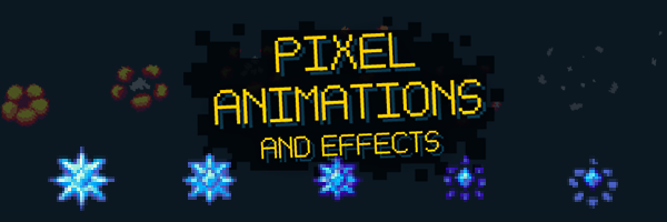 Pixel Animations and Effects Asset Pack