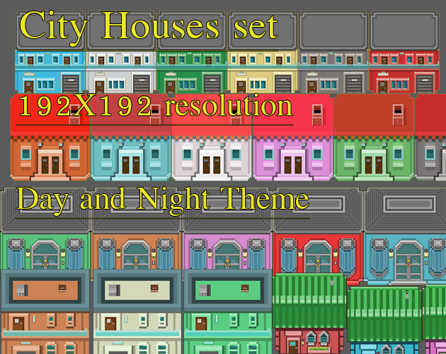 City Houses Pack