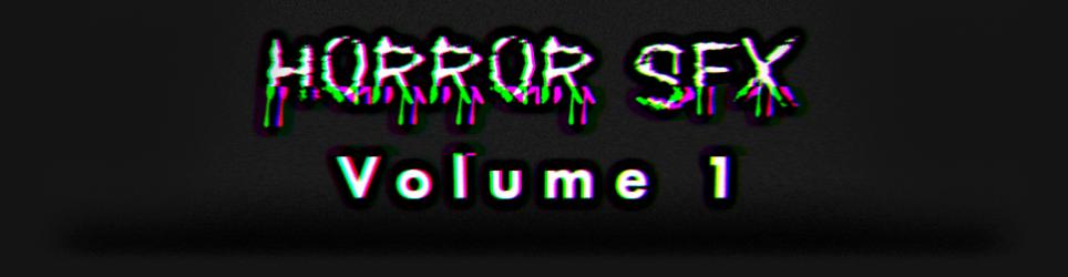 Horror SFX Volume 1