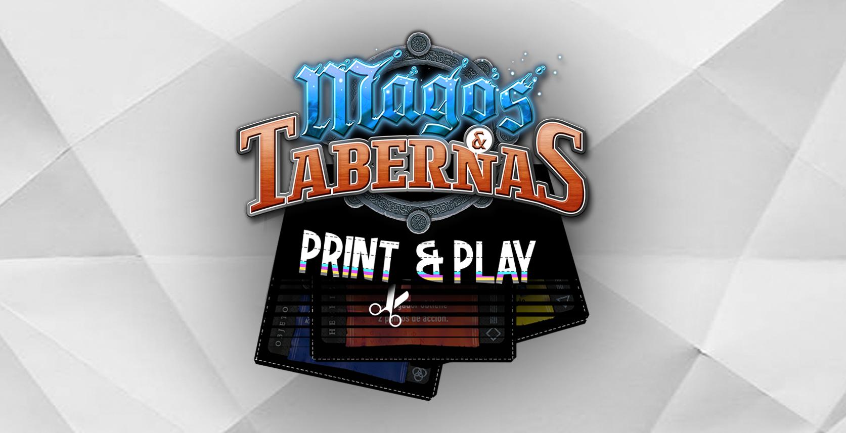 Magos y Tabernas - Print & Play (ESP)