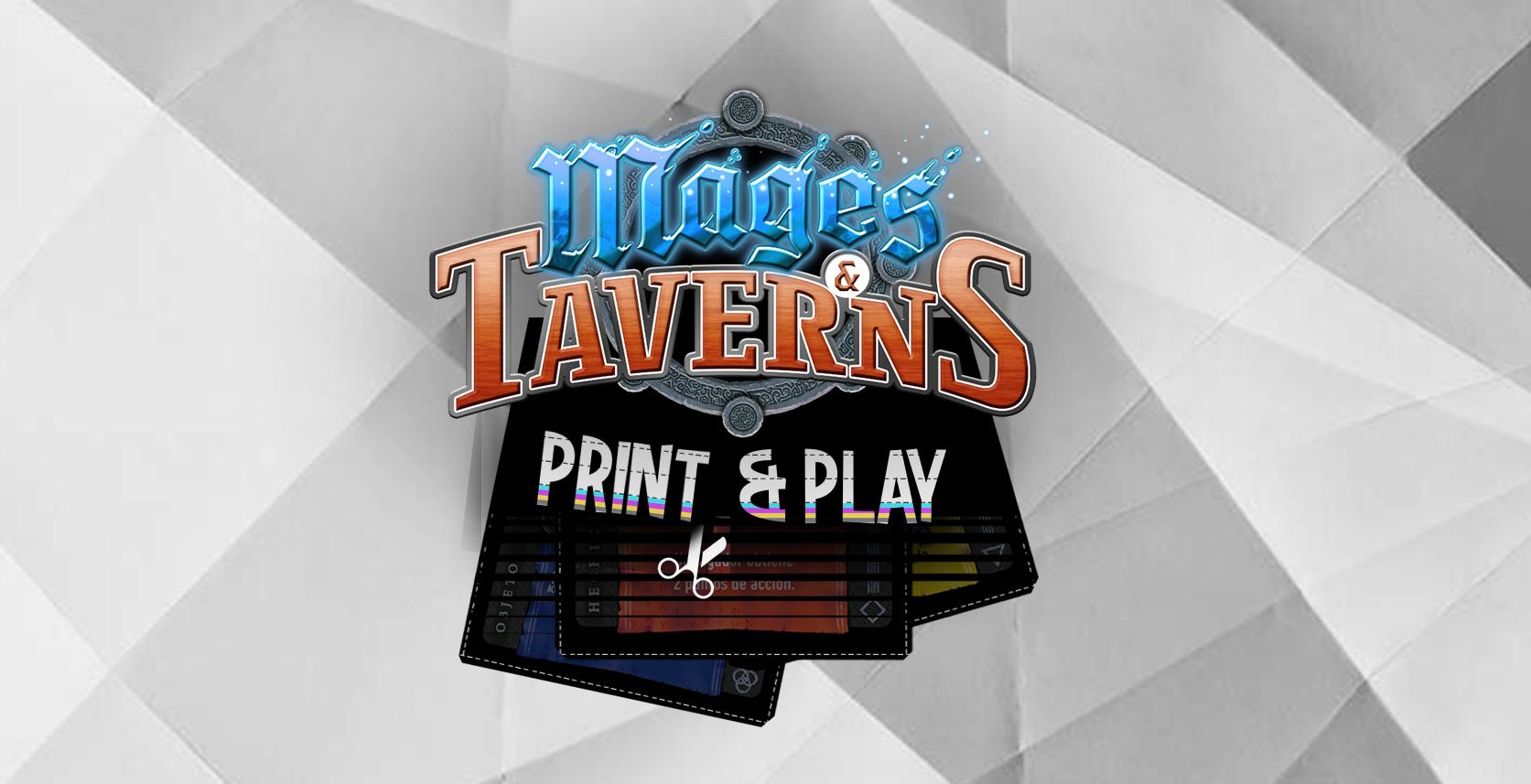 Mages & Taverns - Print & Play (ENG)