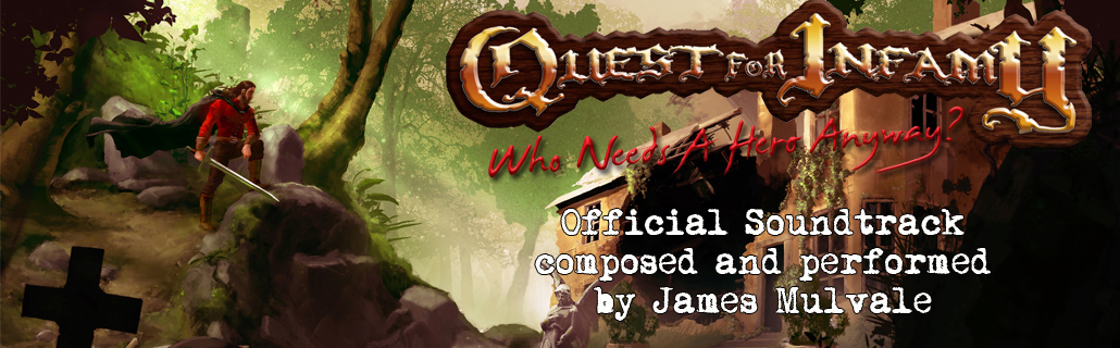 Quest for Infamy - Soundtrack