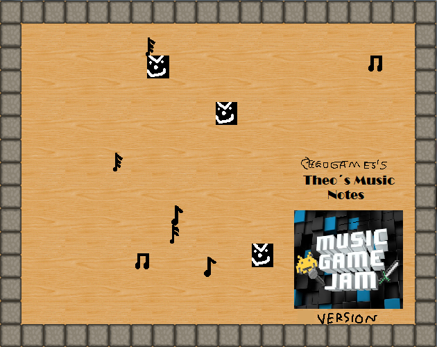 Theo´s Music Notes (Music Game Jam Edition)