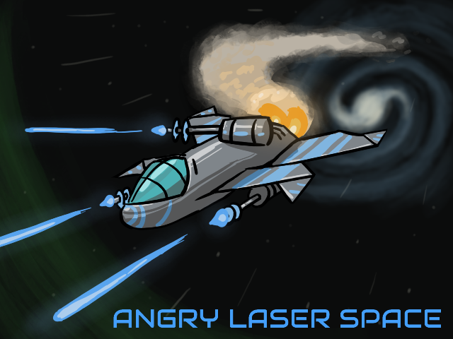 Angry Laser Space