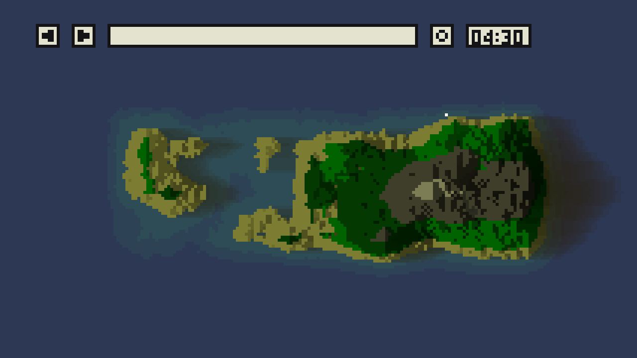 Procedurally Generated Islands by luwani