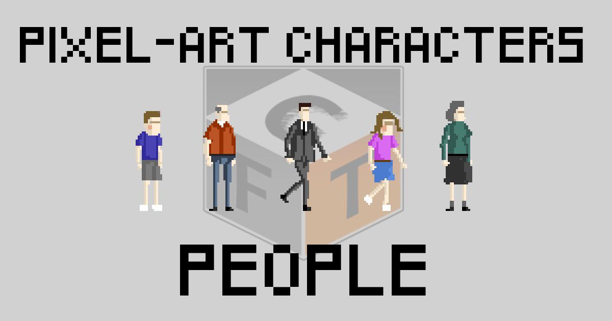 Pixel-Art Characters - People