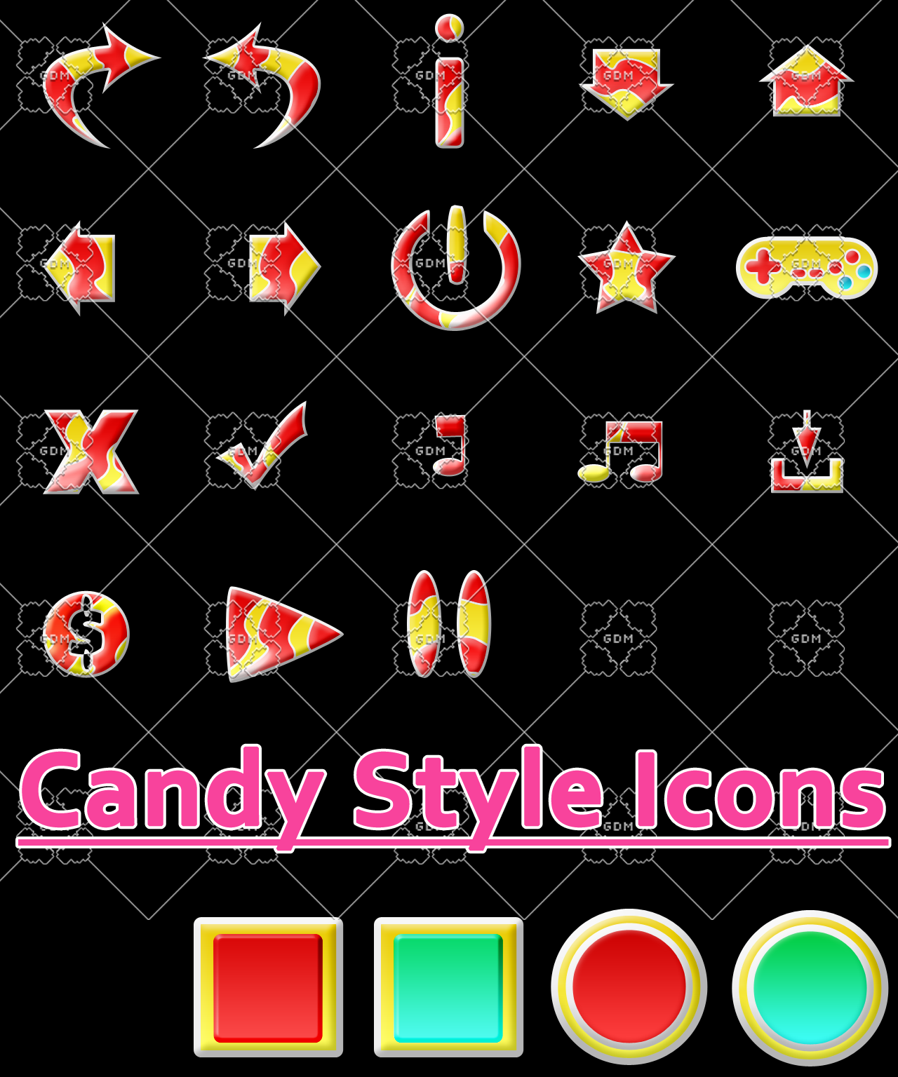 Candy STyle Gui Icon