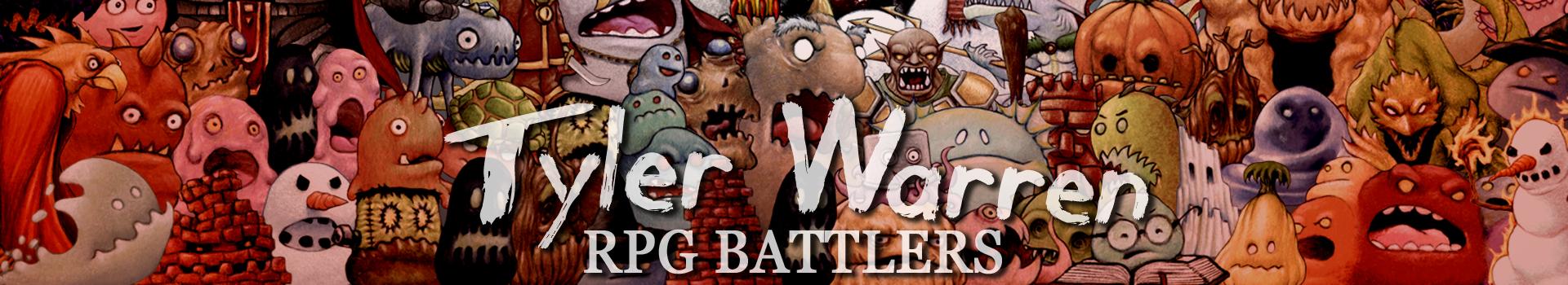 *NEW* Tyler Warren RPG Battlers Pixel-Style 1