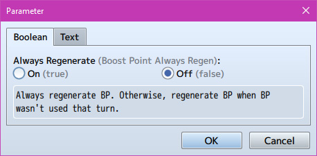 Boost Point System plugin for RPG Maker MV by Olivia