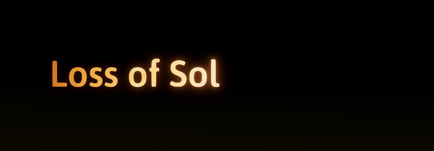 Loss of Sol