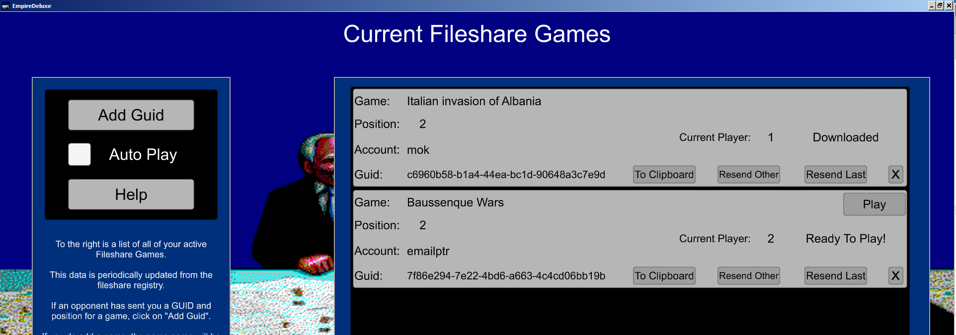 Working On A New Way To Multi-Play - Empire Deluxe Combined Edition