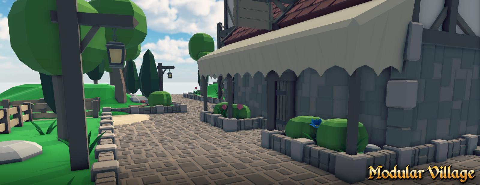 Modular Village Pack