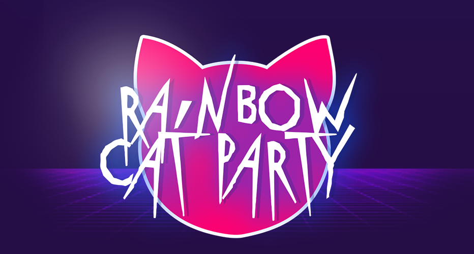Rainbow Cat Party