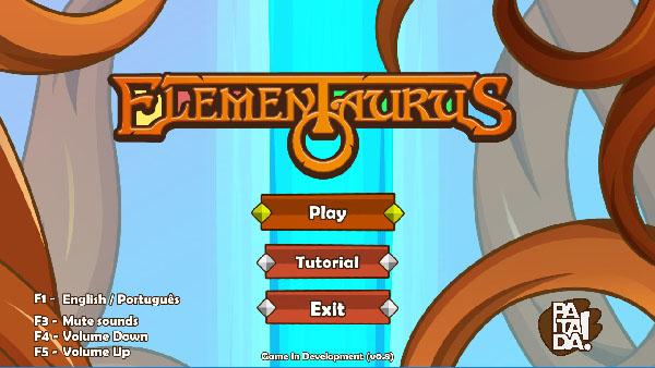 Elementaurus's Menu