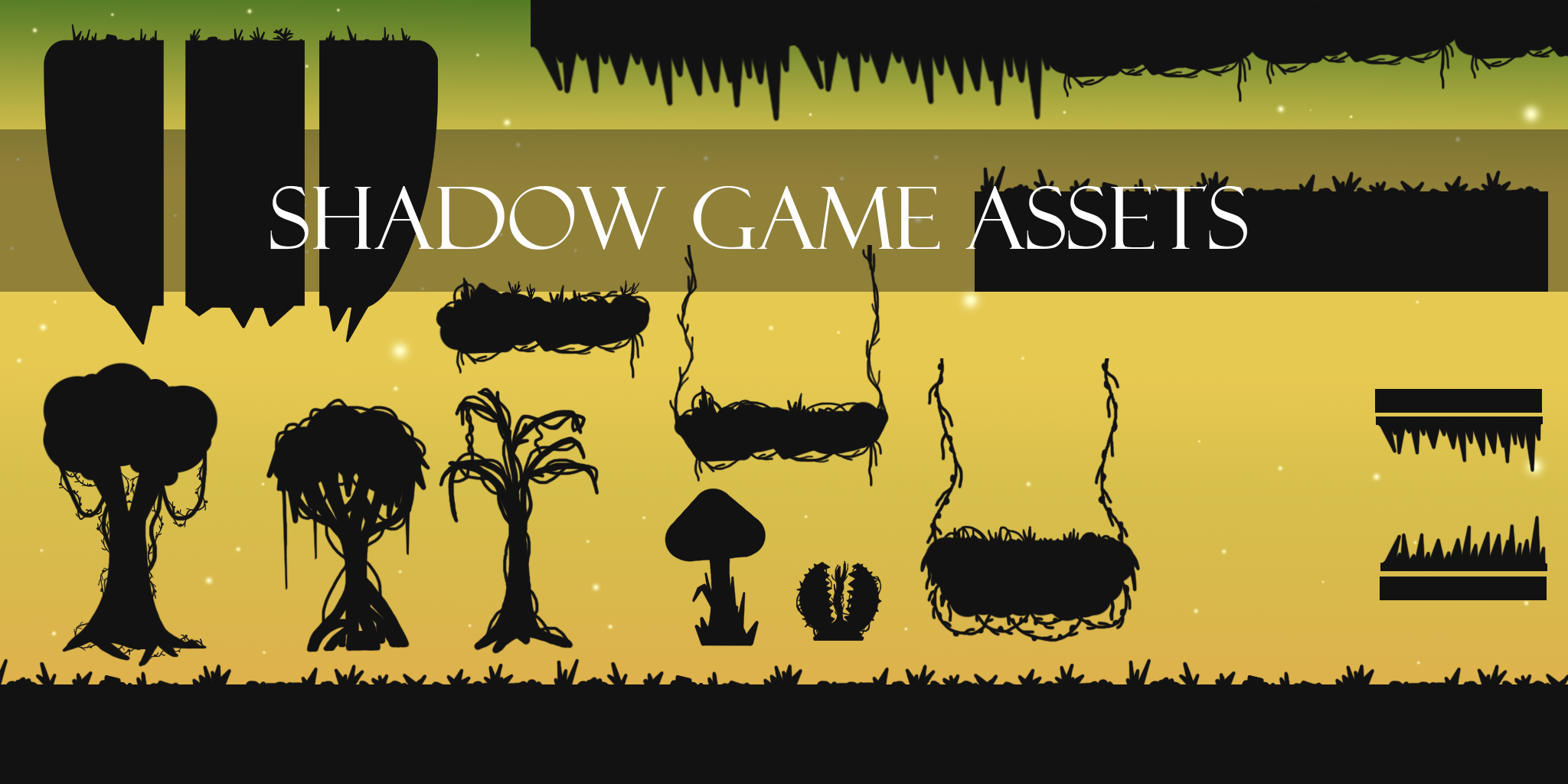 Shadow Game Set - Tileset