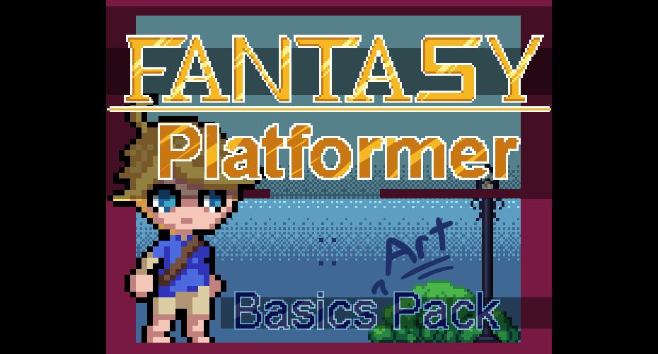 Fantasy Platformer :: Basics (Art) Pack
