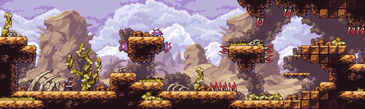 Dead Desert - Fantasy Pixel-Art Tileset
