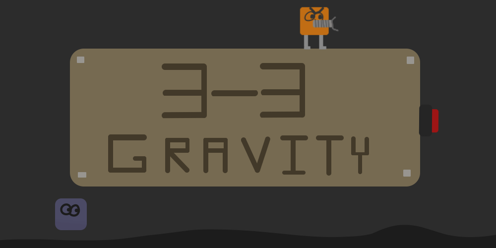 3-3 Gravity (Post Jam Version (With Ceckpoints))