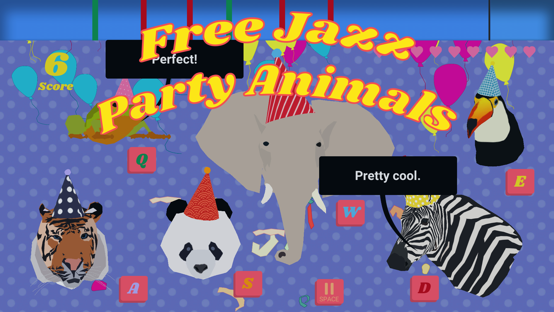 Free Jazz Party Animals