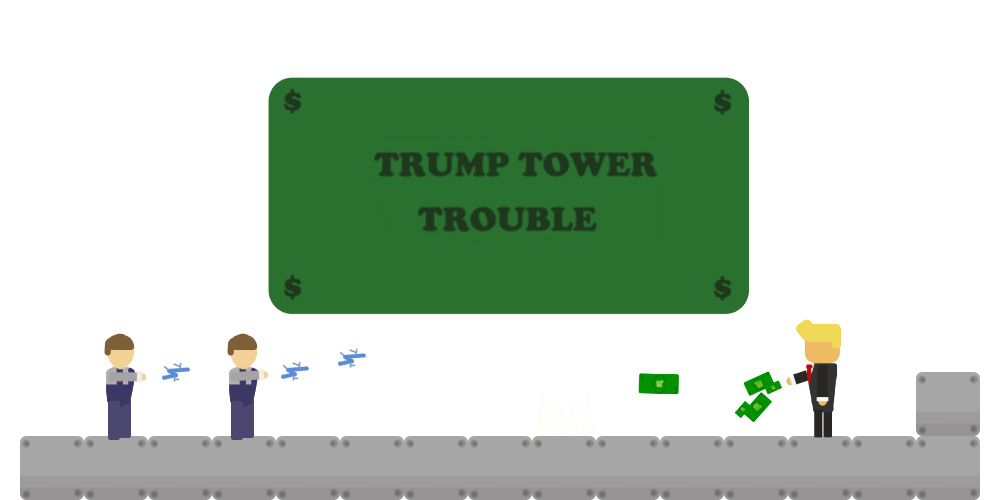 Trump Tower Trouble!