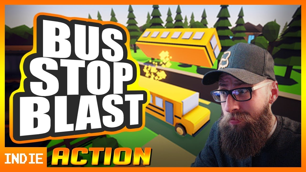 Forged By Games playthrough of Bus Stop Blast