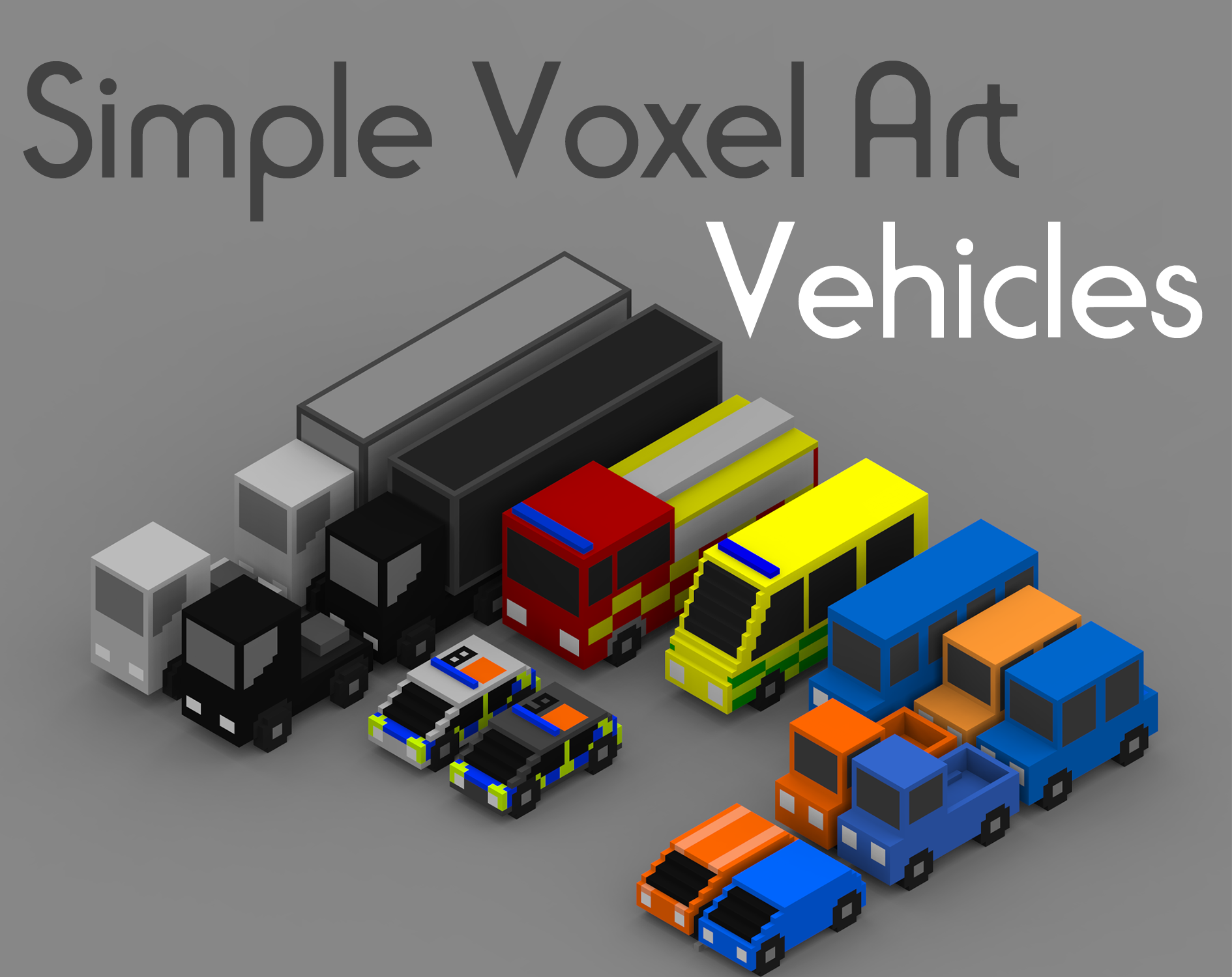 Voxel Vehicles
