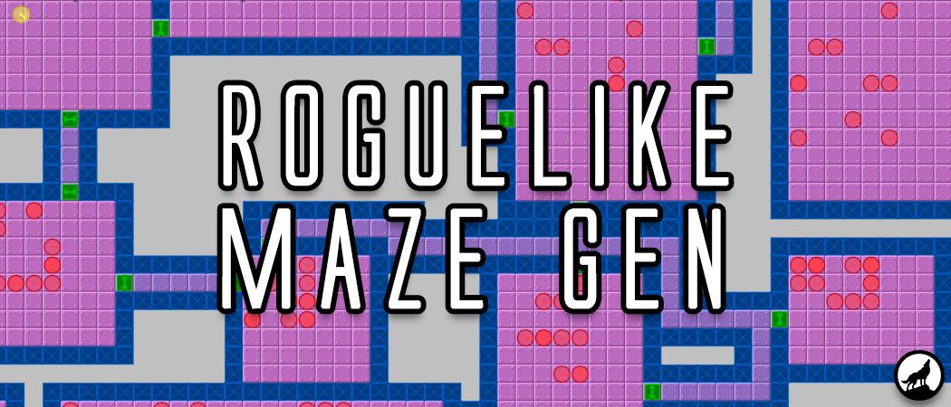 Rogue-like Maze Generator