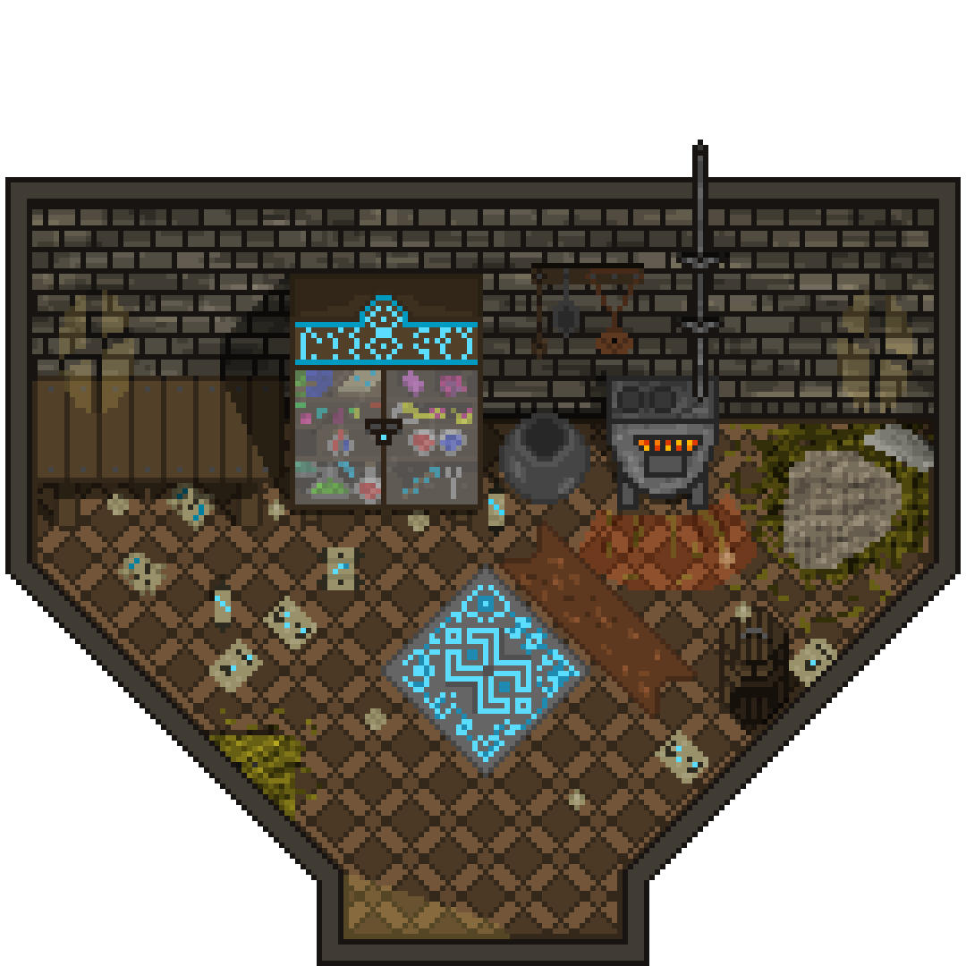 Witch Shop - Inside