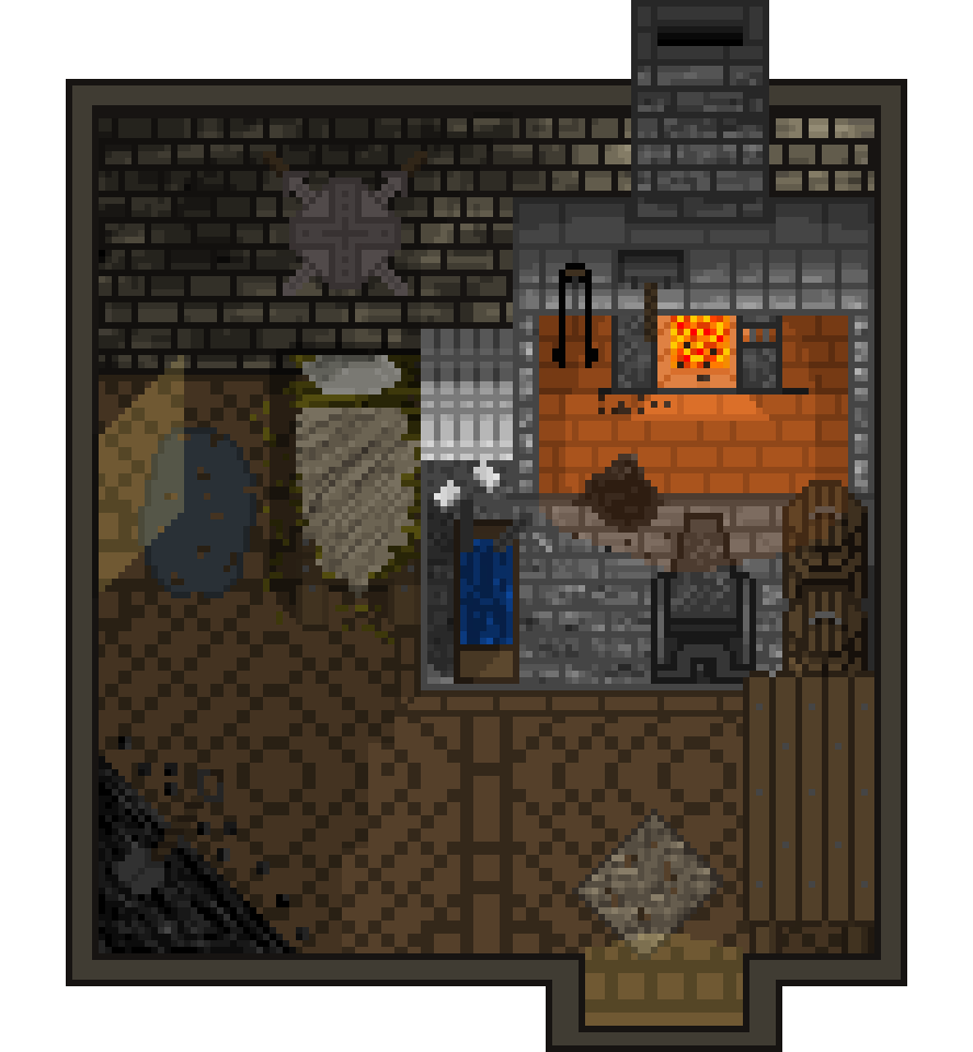 Blacksmith - Inside