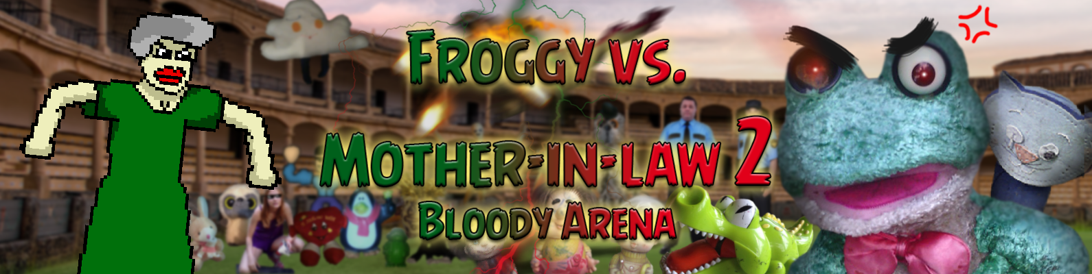 Froggy vs. Mother-in-law 2