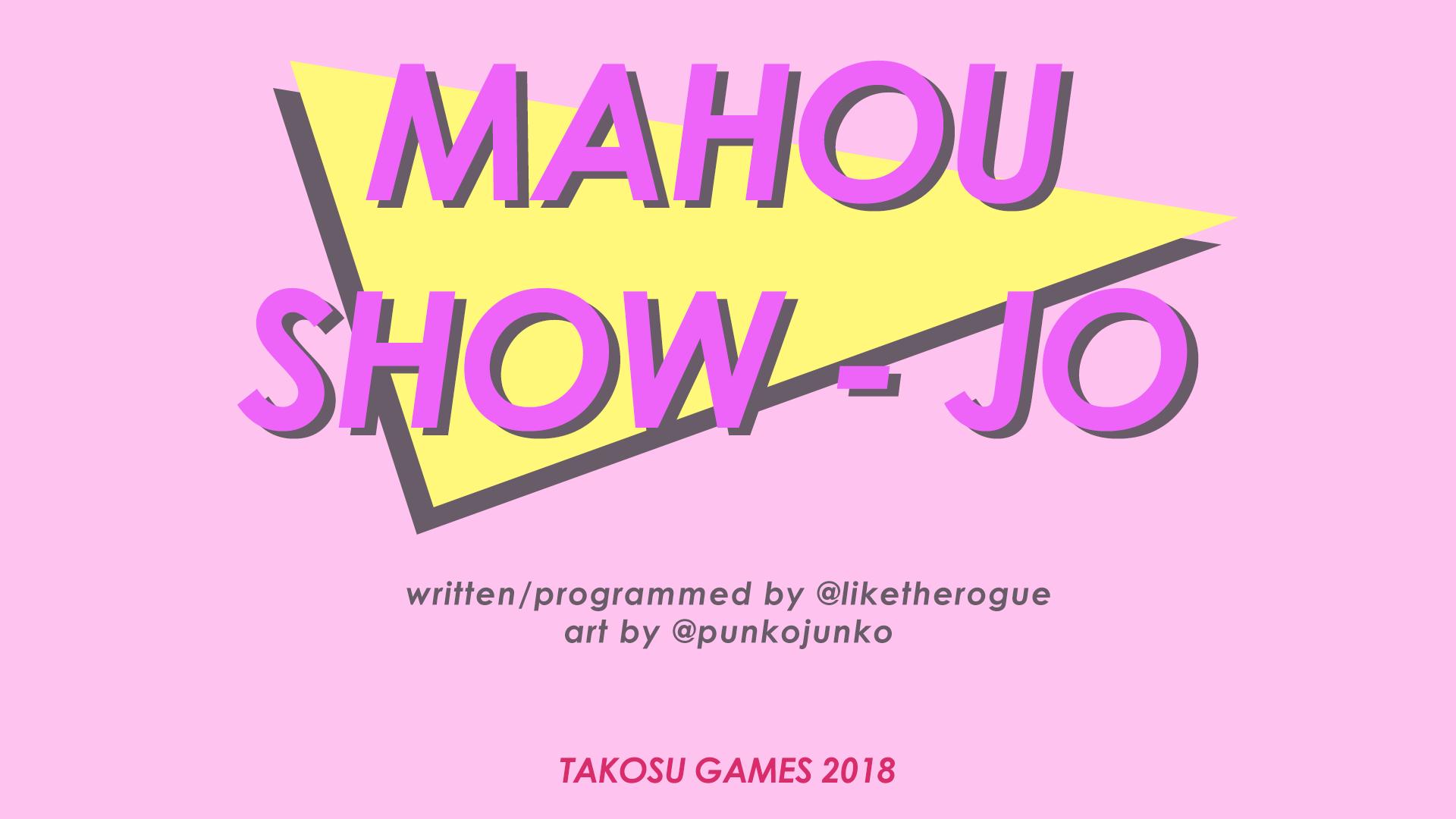 Mahou Show-Jo