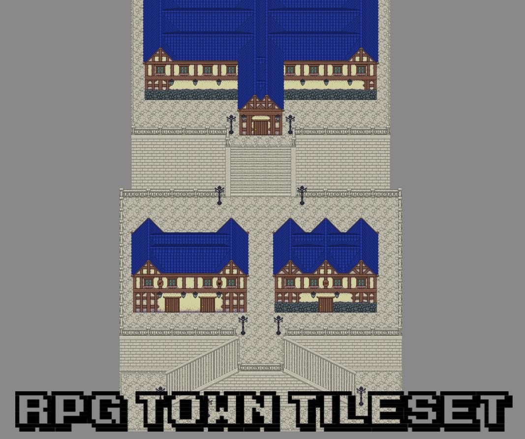 RPG Town Tileset